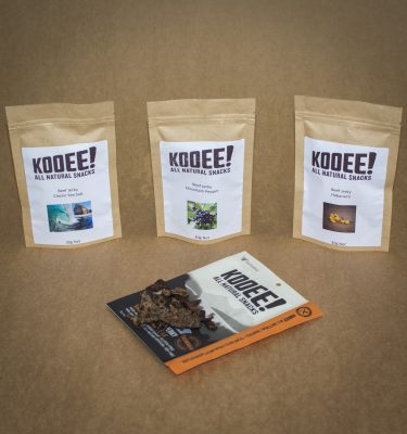 KOOEE Grass Fed Beef Jerky Sample Pack
