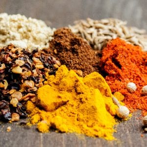 Spices used in the best beef jerky recipe