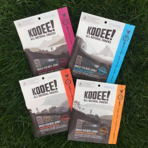 Food Start up KOOEE Beef jerky