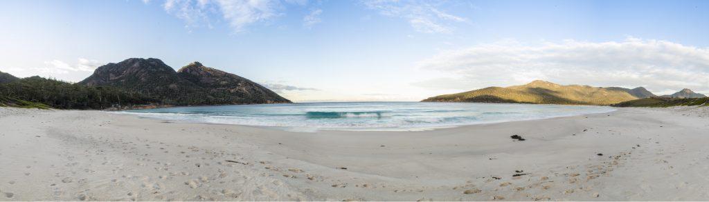 Pano of Wineglass Bay, Tasmania