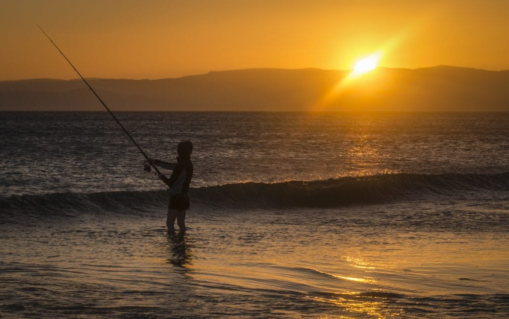 fishing-at-sunset-dolphin-sands-tasmania_27892260281_o
