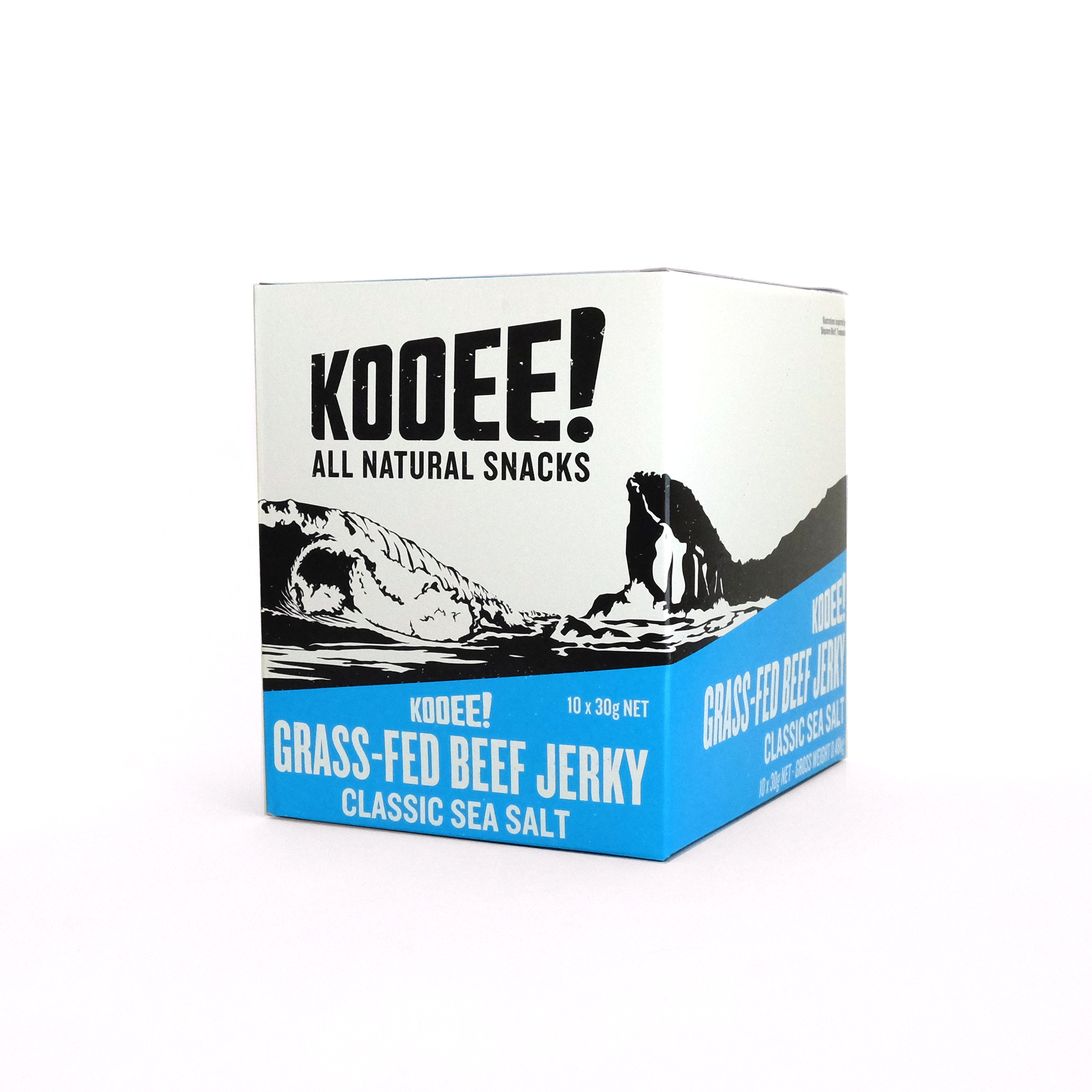 Classic Sea Salt | 10 packs - KOOEE! All Natural Snacks