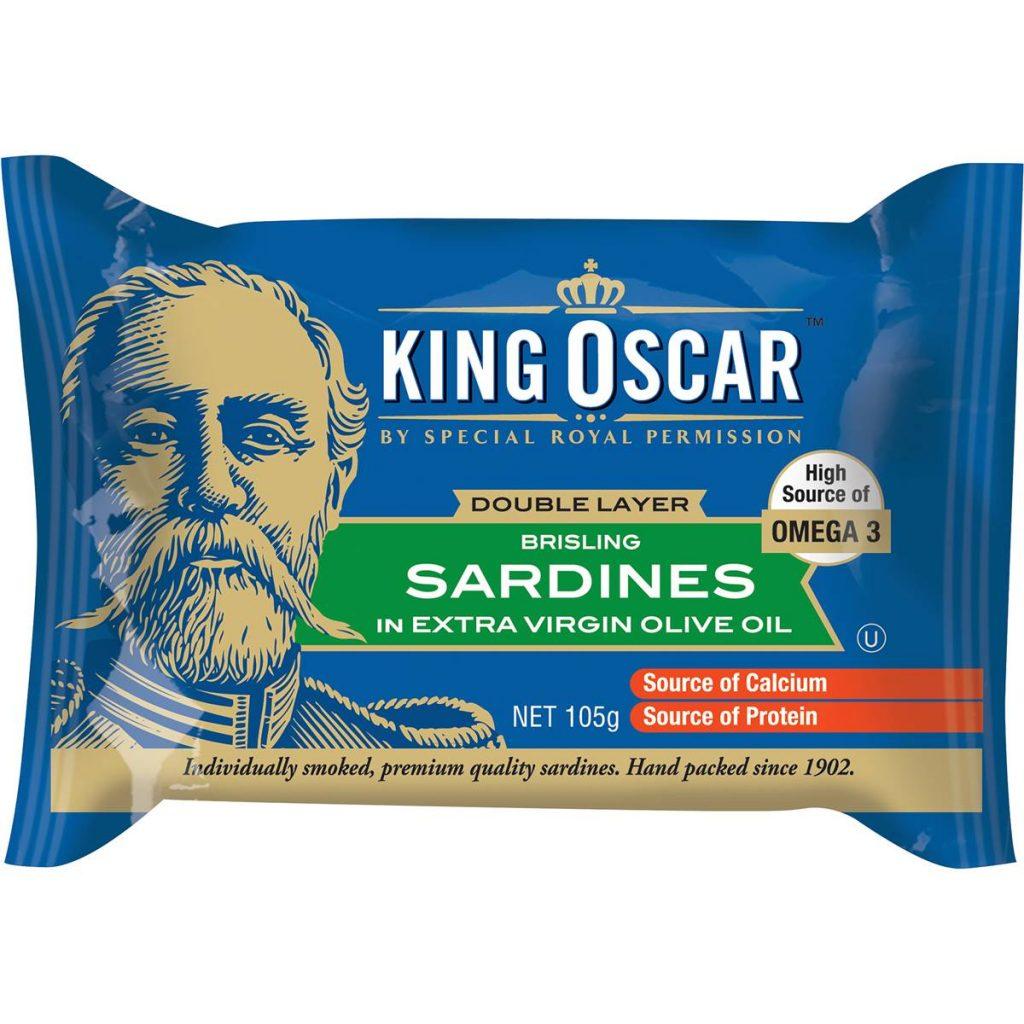 Sardines - keto snack.