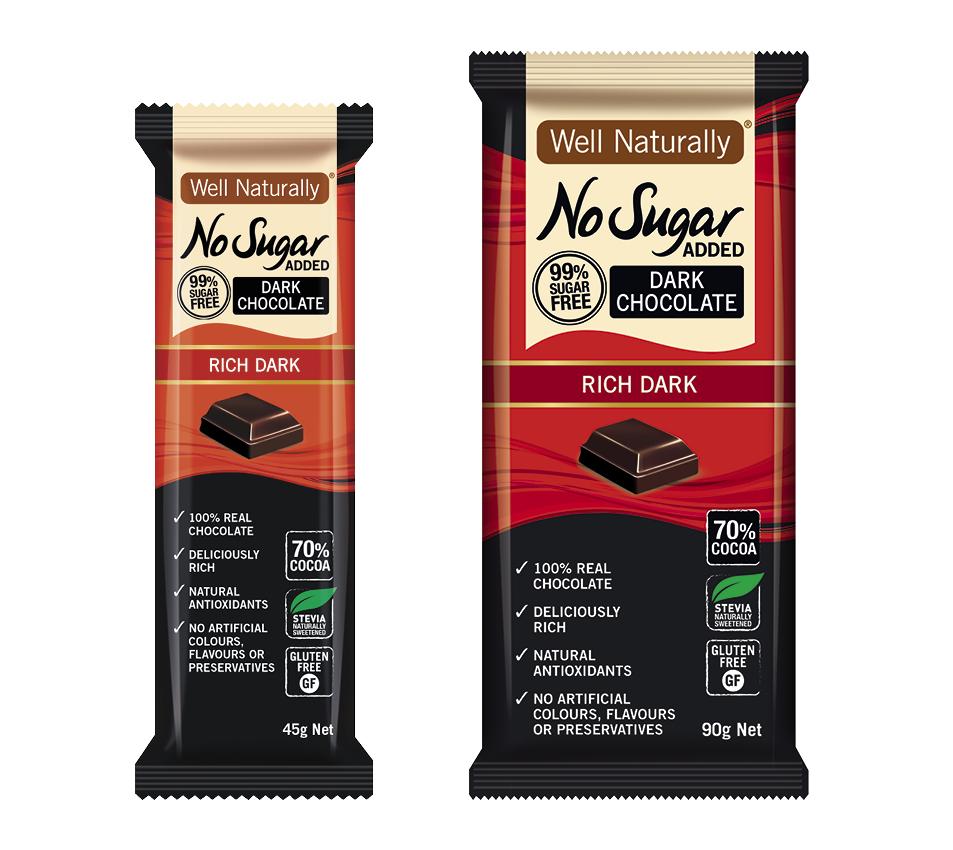 Well Naturally chocolate - keto snack.