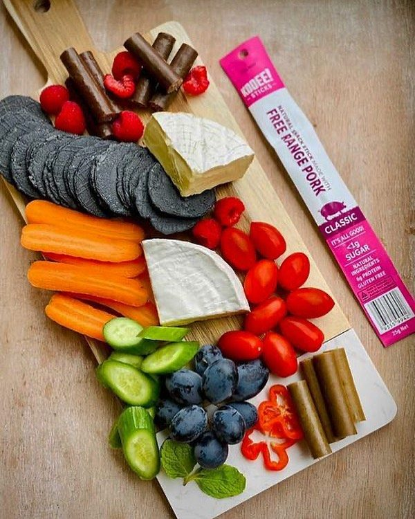 Eat the 🌈.  #wheredoyoukooee #grazingboard #twiggysticks  📸: @andys__kitchen  . . . . . . . . . . . . . . . . . , , . , . . .  #jerky #glutenfree #keto #ketogenic #ketodiet #ketoaf #ketoeats #ketosnacks  #lowcarb #lchf #lunchbox #sydneyfoodie #ketoaus #ketoau #ketoaustralia #ketoaustralia🇦🇺 #lowcarbaustralia #lunchboxideas #coeliac  #ketolifestyle #grazingboards #grazingtables #grazingbox #grazingboxesmelbourne #grazingboxessydney #charcuterieboard #charcuteriebox